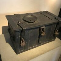 Box used for payment of indulgences
