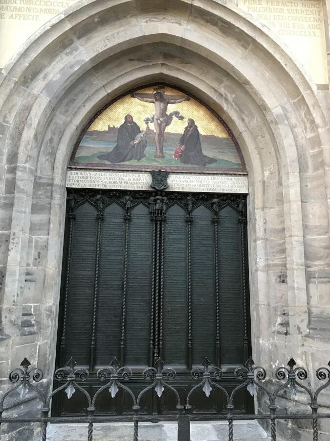 95 Theses Door Wittenberg