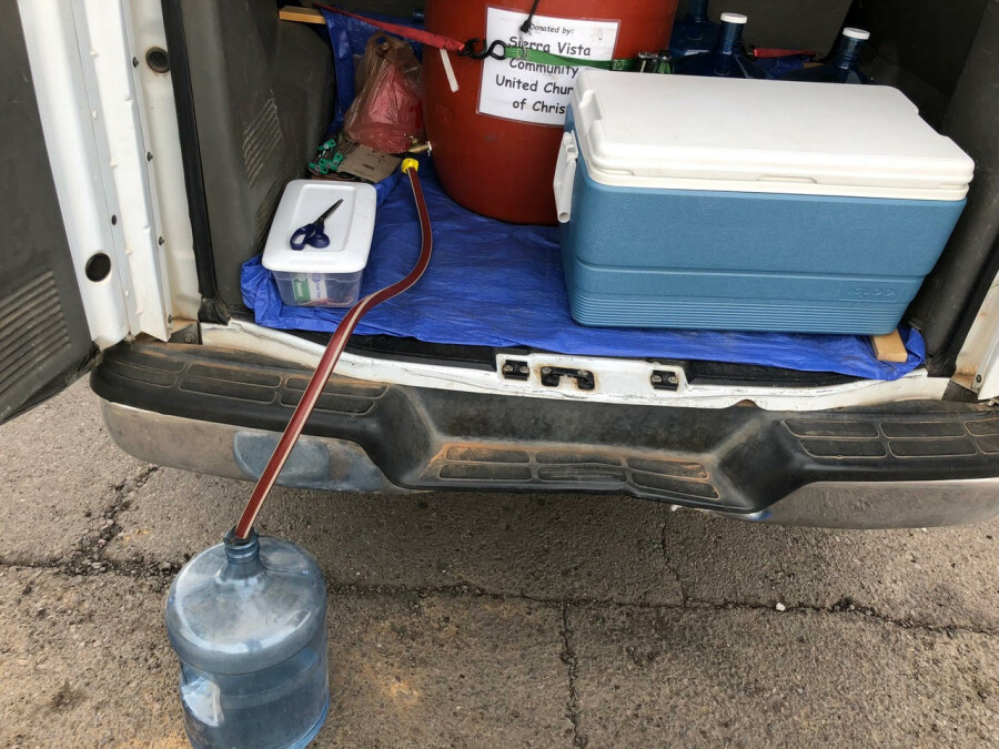 Water Bottle Refill Service