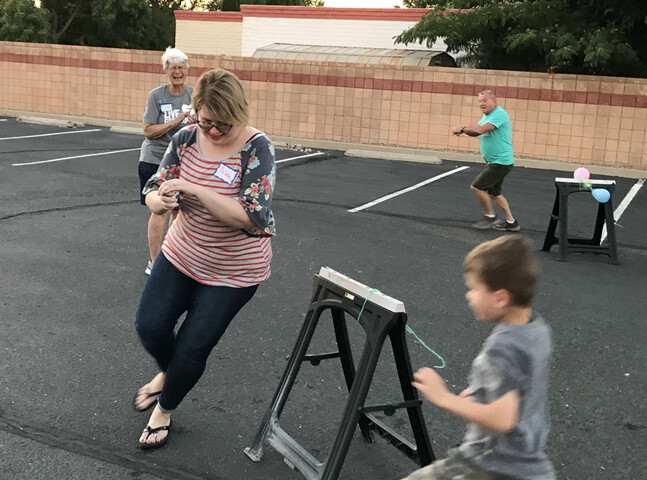VBS 2019 Outside games played by everone