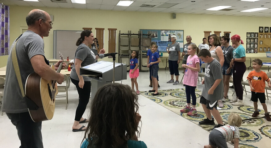 VBS 2019 Songs with Pastor Mark and Intern Amy