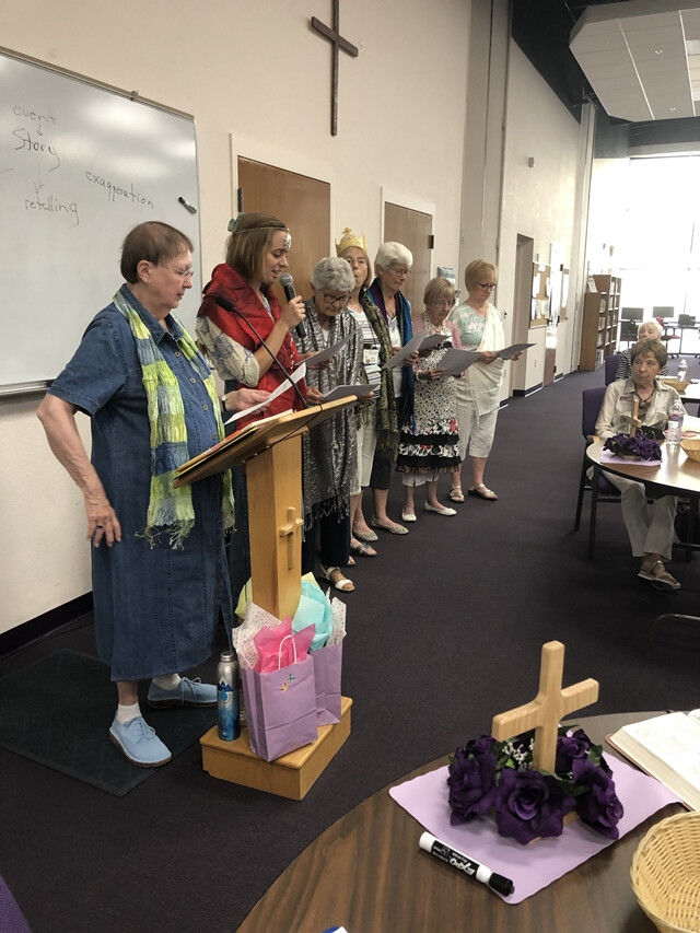 WSELC 2019 Actors of the skit of Esther 1