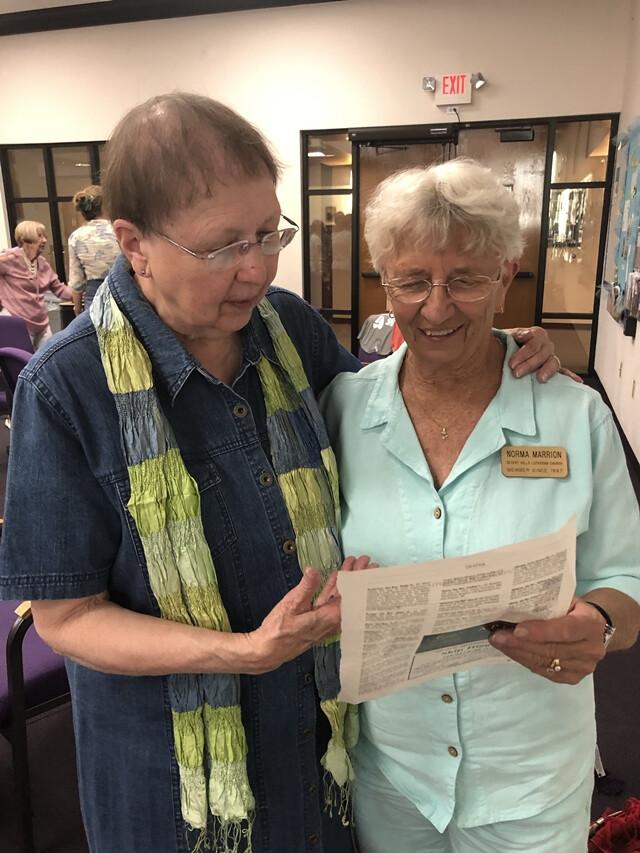 WSELC 2019 Meet and greet with Bishop Kay Ward