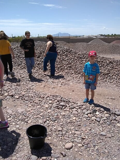 Jul 2019 Rocks Searching for the right rocks